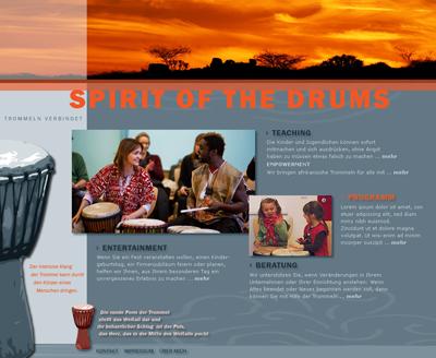 Homepage Spirit