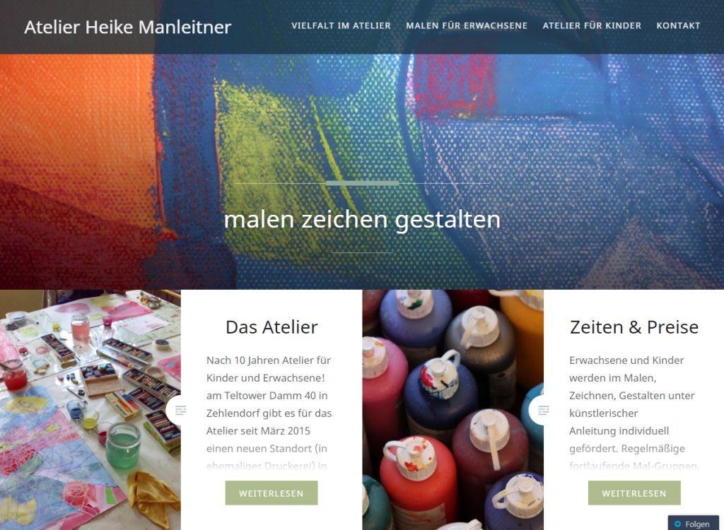 Website Atelier