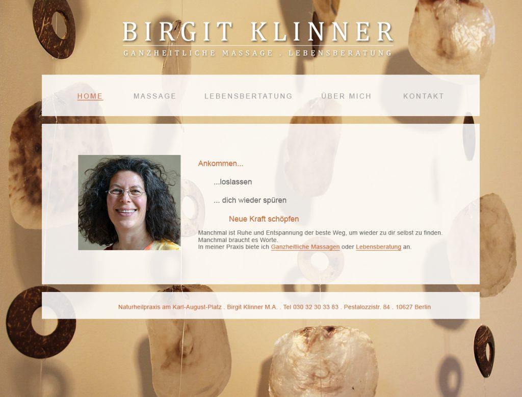 Website B. Klinner